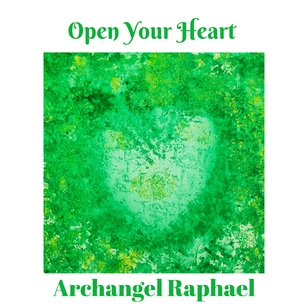 Open Your Heart Angel Card